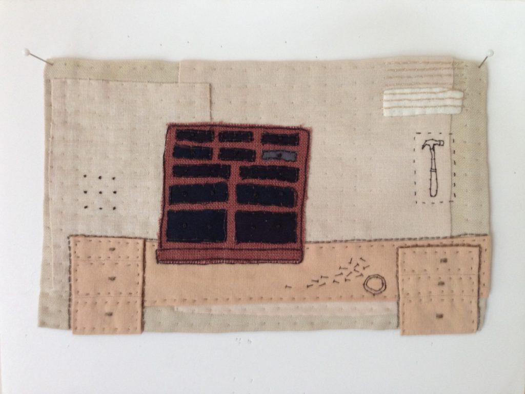 aan het werk - found fabric