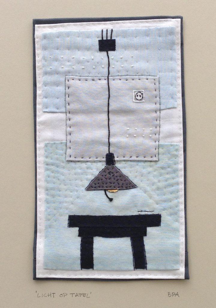 licht op tafel - found fabric
