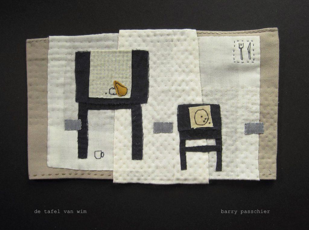 de tafel van wim - found fabric